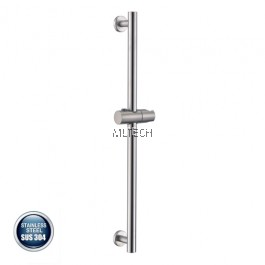 AMBA-800 SUS304 Shower Rail Only (ABS Holder) Round
