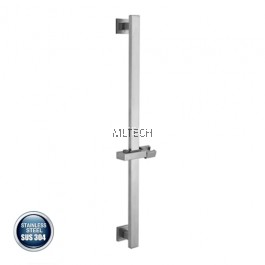 AMBA-801 SUS304 Shower Rail Only (ABS Holder) Square