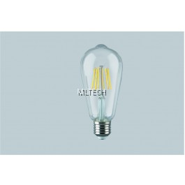 LED EcoMax Filament ST64 Bulb