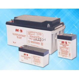 MSB 10 Hour Rate Battery rate - For UPS and Other Application (12V Model)