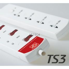Trailing Sockets C/W 1.25mm FLEX.Cord & 13A Plug Top - TS 3