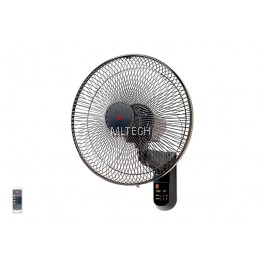 """Remote Control Wall Fan With Timer - KC-4GR (40cm/16"""")"""