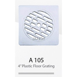 "A105 4"" Plastic Floor Grating"