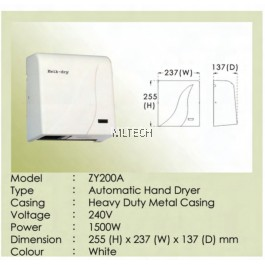 ZY200A - Automatic Hand Dryer