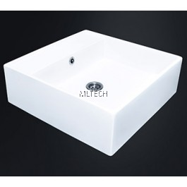 EZYFLIK TEMPLER (C29) Square Counter Top Basin