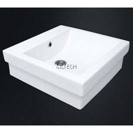 EZYFLIK VERMOUNT (3025) Square Counter Top Basin
