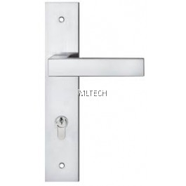 Lever Handle With Plate - SGLHP-33022