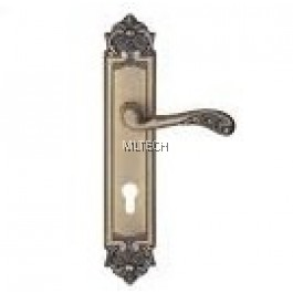 Lever Handle With Plate - SGLHP-2609