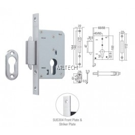 Mortise Lock - AML-H40 Mortise Hook Lock