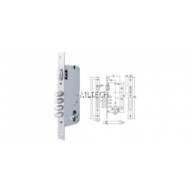 Mortise Lock - SGML-FB8550/10/SS Four Bolt Mortise Lock (Roller)
