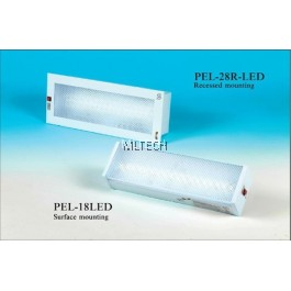 Self-Contained Emergency Luminaire - PEL-28R-LED (Recess mount)