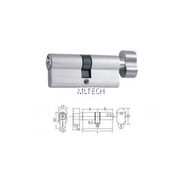 Euro Profile Cylinder - SGEP-S (Thumbturn & Key)