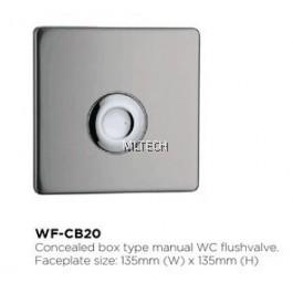 Novatec Manual Flush Valve - WF-CB20