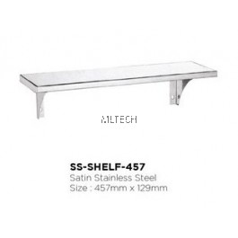 Novatec Satin Stainless Steel - SS-SHELF-457