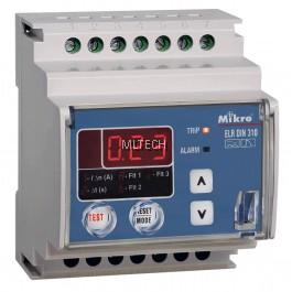 Mikro DIN Rail Earth Leakage Relay - DIN310-230A