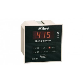 Mikro Voltmeter (With Selector) - DVM360-240A