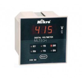 Mikro Voltmeter (Without Selector) - DVM100-240A