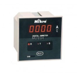 Mikro Ammeter (Without Selector) 600A-5000A - DAM1000-240A