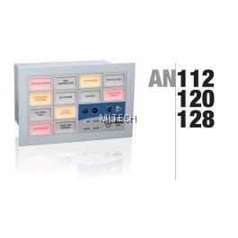 Mikro Programmable Alarm Annunciator 12 Windows c/w RS 232 30/110 VDC - AN112