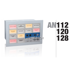 Mikro Programmable Alarm Annunciator 12 Windows c/w RS 485 30/110 VDC - AN112