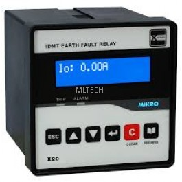Mikro X-Series Earth Fault Relay - X20-EFR-240AD