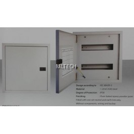 Red V16 Metalclad - Din Rail Type - Power Distribution Box - V16/1X18 / V16/2X18 / V16/3X18 / V16/4X18