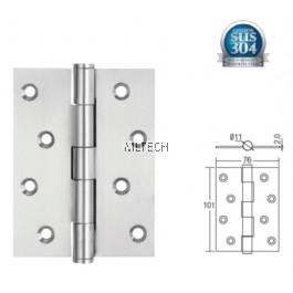 """Door Hinges - SGDH-743020-SS 4"""" x 3"""" x 2mm SUS304 Stainless Steel Hinge"""