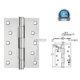 "Door Hinges - SGDH-753525-SS 2BB 5"" x 3.5"" x 2.5mm SUS304 Hinge"
