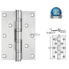 """Door Hinges - SGDH-753030-AB 4BB 5"""" x 3"""" x 3mm SUS304 Hinge"""