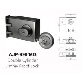 ARMOR - Matt Series - AJP-999/MG Double Cylinder Jimmy Proof Lock