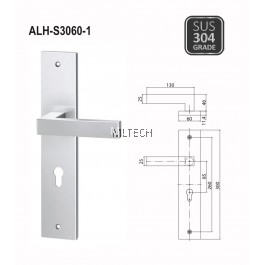 ARMOR - Lever Handle with Plate - ALH-S3060-1