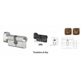 ARMOR - Matt Series - APC-AS70 Thumbturn & Key