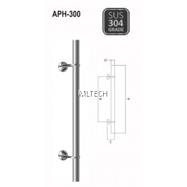 ARMOR - Pull Handle - APH-300 (600mm / 900mm)