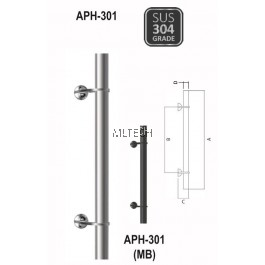 ARMOR - Pull Handle - APH-301 (600mm / 900mm / 1200mm)