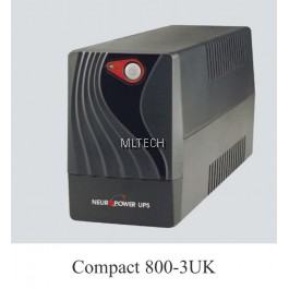 Neuropower - Compact Series Line Interactive Sinewave UPS - Compact 800-3UK