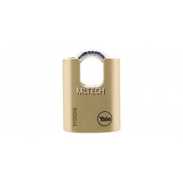 Yale Y110C/40/119 Series Handy Brass Padlocks with Closed Shackle