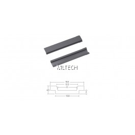 Window Accessories - SGWAL-WFB/S 19.0mm PVC Flat Bar For Multipurpose Window