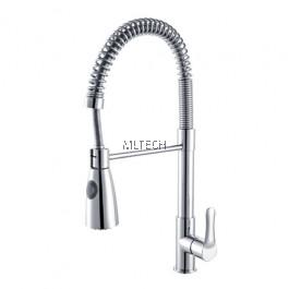 AMFC-10231 Flexible Hose Kitchen Pillar Sink Tap